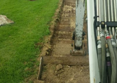 excavator at work 2